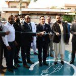 جلی سے چلنے والی گاڑیاں چارج کرنے کیلئے اسلام آباد میں سپر فاسٹ چارجنگ سٹیشن کا افتتاح