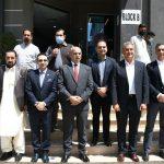 اردن کے سفیر کا چیمبر کے صدر سردار یاسر الیاس خان کے ہمراہ اسلام آباد کے سافٹ ویئر ٹیکنالوجی پارکس کا دورہ