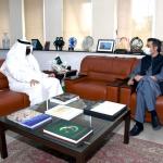 وفاقی وزیر توانائی جناب محمد حماد اظہر سے سعودی سفیرنواف بن سعید المالکی کی ملاقات