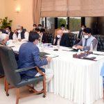 وزیراعظم عمران خان کی زیر صدارت قومی رابطہ کمیٹی برائے زراعت کا اجلاس۔
