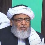گلے پڑنے کے بیانیہ والے اب پائوں پڑنے کے بیانیہ پر آگئے، حافظ حسین احمد