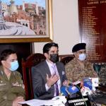 ماسک نہیں پہن سکتے تو جیل جانا ہوگا، سی سی پی اوغلام محمود ڈوگر