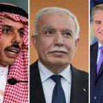 شاہ محمود کا فلسطینی،افغان اورسعودی وزیر خارجہ سے ٹیلیفونک رابطہ، مسئلہ فلسطین پر تبادلہ خیال