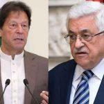 وزیراعظم عمران خان کا محمود عباس کو فون، فلسطینی عوام کی جدوجہدکی مکمل حمایت کےعزم کااعادہ