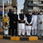 کرونا ایس او پیز...صدر آئی سی سی آئی اور ڈپٹی کمیشنر اسلام آباد کا مختلف مارکیٹوں کا مشترکہ دورہ