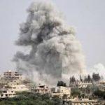 اسرائیلی طیاروں کی شام پر بمباری میں 8 اہلکار ہلاک