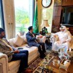 سعودی عرب پاکستا ن کے ساتھ مختلف شعبوں میں قریبی تعاون قائم کرنے کا خواہاں ہے۔ سعودی سفیر نواف سعید المالکی